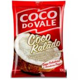 COCO RALADO DO VALE DESIDRATADO PARCIALMENTE DESENGORDURADO