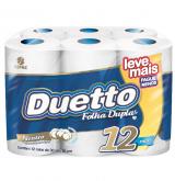PAPEL HIGIENICO DUETTO NEUTRO LEVE + PAGUE - 6X12X30MT