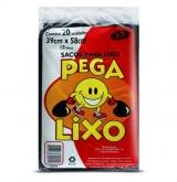 SACOS PEGA-LIXO PRETO 15LT 25X20X15LT (40311)