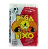 SACOS PEGA-LIXO PRETO 30LT 25X10X30LT (40312)