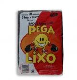 SACOS PEGA-LIXO PRETO 50LT 25X10X50LT (40313)