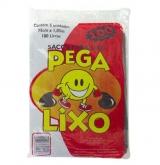 SACOS PEGA-LIXO PRETO 100L 25X5X100LT (40383)