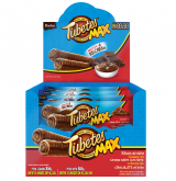 TUBETES MAX RECHEIO CHOCOLATE COBERTURA CHOCOLATE