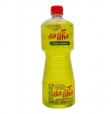 ALCOOL DA ILHA 46,2% PERFUMADO LIMAO 1LT