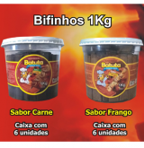 BIFINHO BATUTA CARNE / FRANGO POTE 1KG