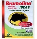 RATICIDA ISCA BRUMOLINE 75GR
