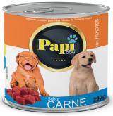 RACAO UMIDA P/CAES FILHOTE PAPI DOG CARNE 290GR