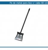 PA P/LIXO BETTHAVALE METAL C/CABO