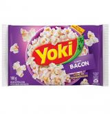 PIPOCA MICROONDAS YOKI BACON 100GR