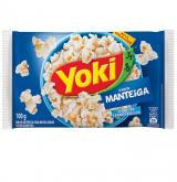 PIPOCA MICROONDAS YOKI MANTEIGA 100GR