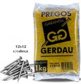 PREGO GERDAU 12X12 ESTAMPADO