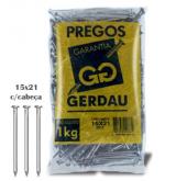 PREGO GERDAU 15X21 ESTAMPADO