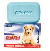 SABONETE CAO FIEL ANTISSEPTICO/BACTERICIDA (AZUL)