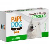 SABONETE PAPI DOG CITRONELA 80GR
