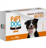 SABONETE PAPI DOG NEUTRO 80GR