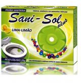 PEDRA SANITARIA SANI-SOL LIMA LIMAO