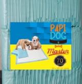 TAPETE HIGIENICO PAPI DOG MASTER C/70UN
